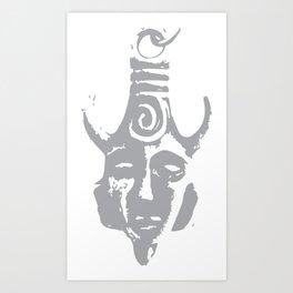 the Samulet  Art Print