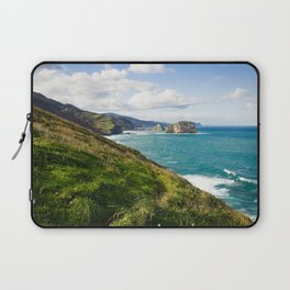 Basque Country coast landscape Laptop Sleeve