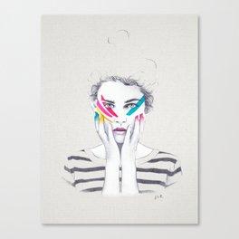 War Paint Ramona Canvas Print
