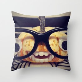 Pumpkin Spice. Throw Pillow