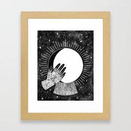 Waxing Gibbous Framed Art Print