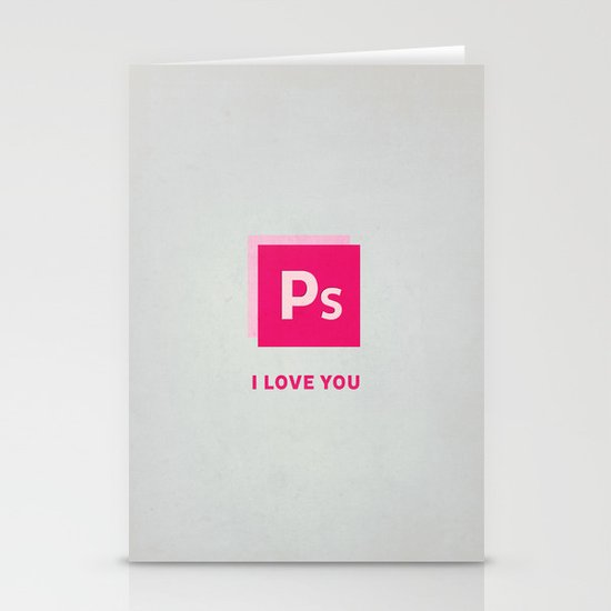 Ps I love you Stationery Cards