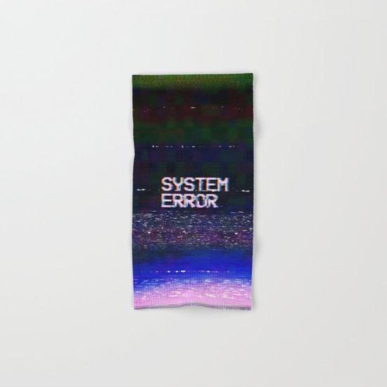 System Error Hand & Bath Towel
