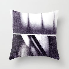 Monotype: Stairs Throw Pillow