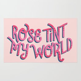 Rose tint my world (RHPS) Rug