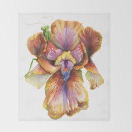 Lord of the Iris Kingdom Throw Blanket