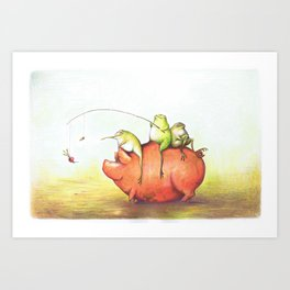 Onward! Art Print