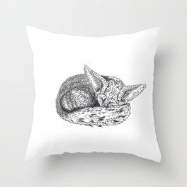 PETIT FOX - BIG DREAMS Throw Pillow