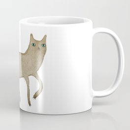 Suspicious-Looking Moggy Coffee Mug