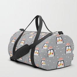 Christmas Penguin Duffle Bag
