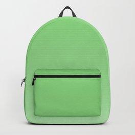 Scandinavian jade green gradient Backpack