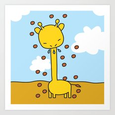 Garry Sneeze Art Print