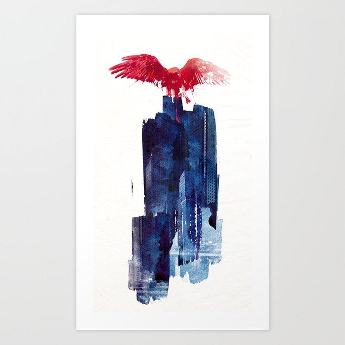 Big Beast Art Print
