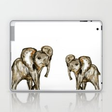 Baby Elephant Pink Laptop & iPad Skin