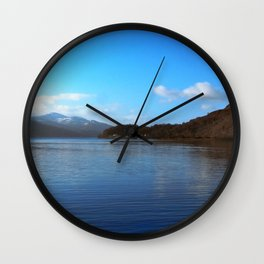 View on the Loch Wall Clock