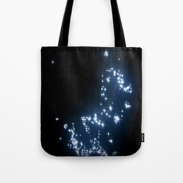 wet stars Tote Bag