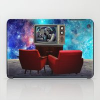 tv iPad Cases featuring Television by Cs025