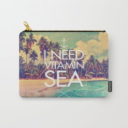 I Need Vitamin Sea Carry-All Pouch