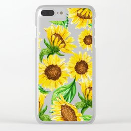 Sunny #society6 #decor #buyart Clear iPhone Case