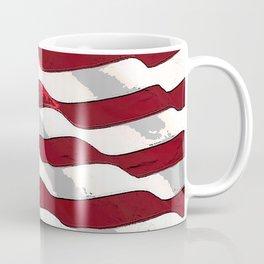 Fancy Flag:  USA 3 Coffee Mug