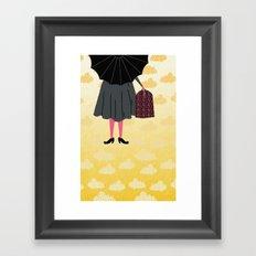Mary Poppins Framed Art Print