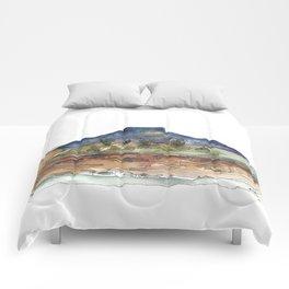 Purple Mountian, New Mexico Comforters
