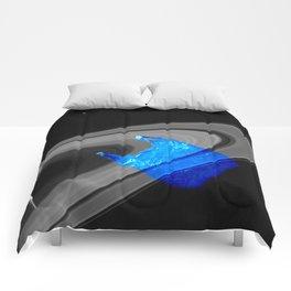 Echoes of intergalactic consumerism Comforters