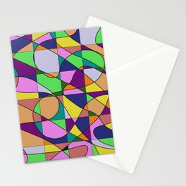 Pastel Pieces Stationery Cards