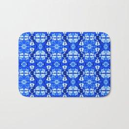 It's Bloomin' Blue Bath Mat