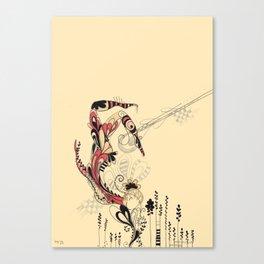 beija-flor Canvas Print