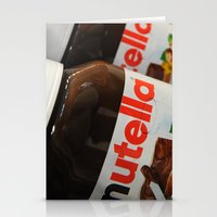 nutella Stationery Cards featuring Nutella by Max Jones