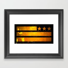 TriStar Flag Framed Art Print