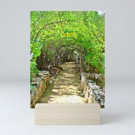 Follow Me to the Cenote, Tulum, Quintana Roo Mexico Mini Art Print