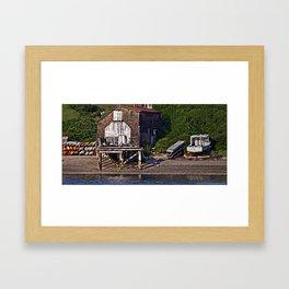 A Fisherman's Life Framed Art Print