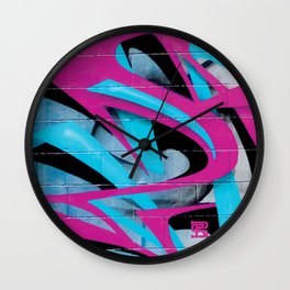 PAGER 1 Royal Stain Wall Clock