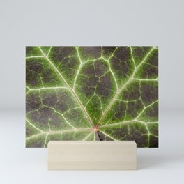 Leaf Lightning. Nature Photography Mini Art Print