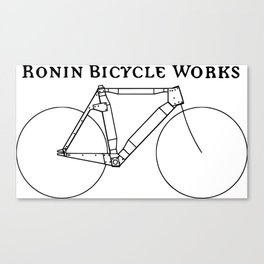 Ronin Bicycle Works Canvas Print