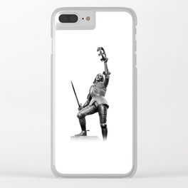 Richard The Third Clear iPhone Case
