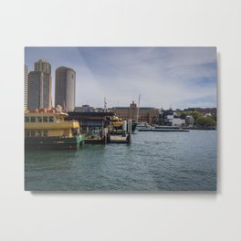 Sydney Ferries Metal Print