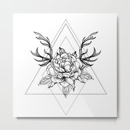 rose design Metal Print