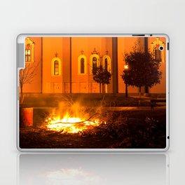 glowing church Laptop & iPad Skin