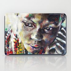 Reverie - Ethnic African portrait iPad Case