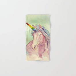 Rainbow Unicorn Hand & Bath Towel