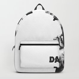 Funny, passionate Dance gift Backpack