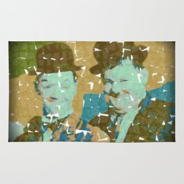 No Laurel Without Hardy Rug