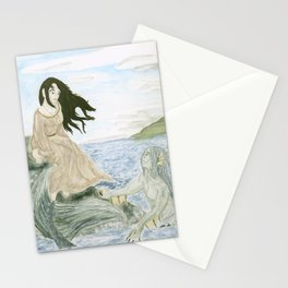 The Lady and the Merman Stationery Cards