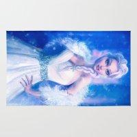 frozen elsa Area & Throw Rugs featuring Elsa by Joe Roberts