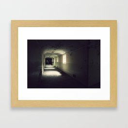 The Lost Asylum Framed Art Print