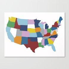 USA #2 Canvas Print