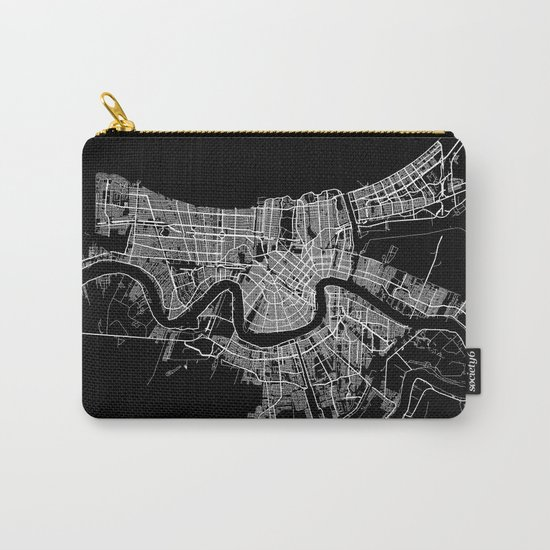 New Orleans map Carry-All Pouch